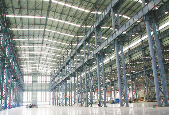 厂房钢结构-青岛昂吉利钢构有限公司
